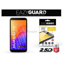 Huawei Y5p gyémántüveg képernyővédő fólia - Diamond Glass 2.5D Fullcover - fekete