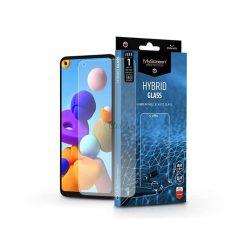 Samsung A217F Galaxy A21s rugalmas üveg képernyővédő fólia - MyScreen Protector Hybrid Glass - transparent