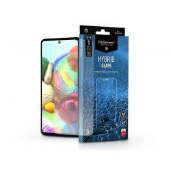 Samsung A715F Galaxy A71 rugalmas üveg képernyővédő fólia - MyScreen Protector Hybrid Glass - transparent