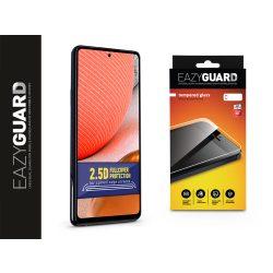 Samsung A725F Galaxy A72/A726B Galaxy A72 5G gyémántüveg képernyővédő fólia - Diamond Glass 2.5D Fullcover - fekete