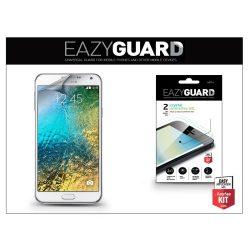 Samsung SM-E700 Galaxy E7 képernyővédő fólia - 2 db/csomag (Crystal/Antireflex HD)