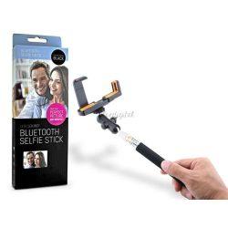 LED Sound Selfie Holder bluetoothos szelfi bot exponáló gombbal - 100 db/csomag - fekete