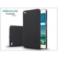 HTC One X9 hátlap képernyővédő fóliával - Nillkin Frosted Shield - fekete
