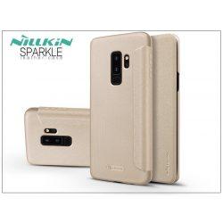 Samsung G965F Galaxy S9 Plus oldalra nyíló flipes tok - Nillkin Sparkle - gold