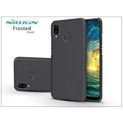 Huawei P20 Lite hátlap - Nillkin Frosted Shield - fekete