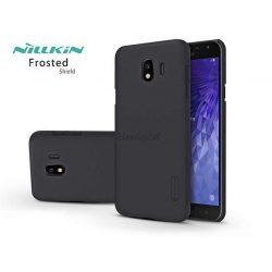 Samsung J400F Galaxy J4 (2018) hátlap képernyővédő fóliával - Nillkin Frosted Shield - fekete