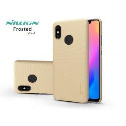 Xiaomi Mi 8 hátlap - Nillkin Frosted Shield - gold