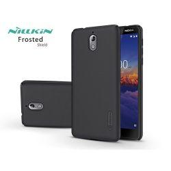 Nokia 3.1 hátlap - Nillkin Frosted Shield - fekete
