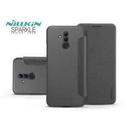 Huawei Mate 20 Lite oldalra nyíló flipes tok - Nillkin Sparkle - fekete