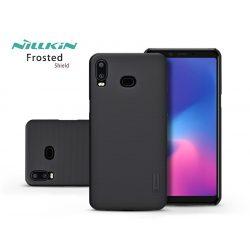 Samsung G6200 Galaxy A6s (2018) hátlap - Nillkin Frosted Shield - fekete