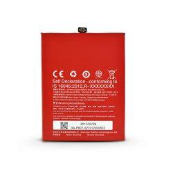 OnePlus X gyári akkumulátor - Li-polymer 2525 mAh - BLP607 (ECO csomagolás)