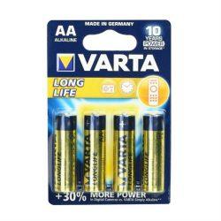 Alkáli Varta akkumulátor R6 (AA) 4 db. tartós