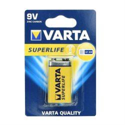 Zinc akkumulátor Varta 9V Superlife - 1 darab