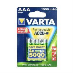 VARTA Akumulator R3 1000 mAh (AAA) 4pcs használatra kész