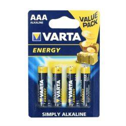 Alkáli Varta elem R3 (AAA) 4 db High Energy