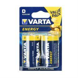 Alkáli elem Varta R20 (D típus) energy 2 db [4120]