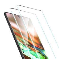 ESR 3D teljes képernyős Edzett üveg tempered glass Samsung Galaxy hangra 10 fekete - 2 darab üvegfólia