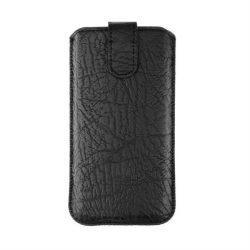Forcell Slim Kora 2 tok - Samsung i9100 Galaxy S2 / LG L7 fekete telefontok