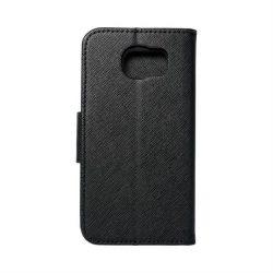 Fancy flipes tok SAMSUNG Galaxy S6 Fekete telefontok