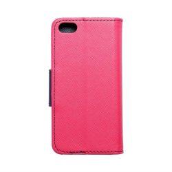 Fancy Book tok iPhone 5 / 5S / 5SE rózsaszín / sötétkék telefontok
