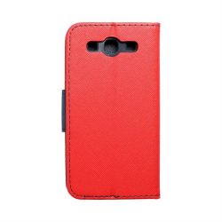 Fancy flipes tok SAMSUNG Galaxy S3 (I9300) piros / sötétkék telefontok