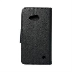 Fancy flipes tok MICR Lumia 550 fekete telefontok
