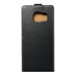 Flip tok Slim Flexi Fresh Samsung Galaxy S7 Edge (G935), fekete telefontok
