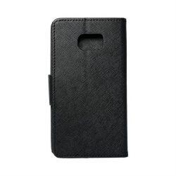 Fancy flipes tok SAMSUNG Galaxy S7 Edge (G935), fekete telefontok