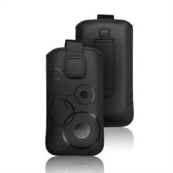 Forcell Deko tok - LG K10 / Samsung Galaxy Grand Prime fekete telefontok