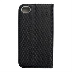 okos kihajtható tok iPhone 4 / 4S fekete telefontok