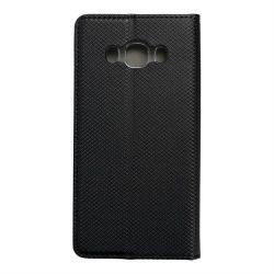 okos kihajtható tok Samsung Galaxy J5 2016 fekete telefontok
