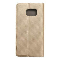 okos kihajtható tok Samsung Galaxy S6 arany telefontok