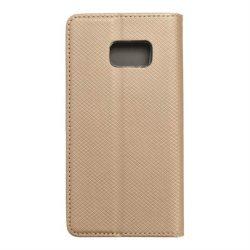 okos kihajtható tok Samsung Galaxy S7 (G930) arany telefontok