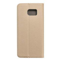 okos kihajtható tok Samsung Galaxy S7 Edge (G935) arany telefontok