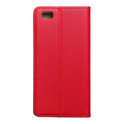 okos kihajtható tok HUAWEI P8 Lite piros telefontok