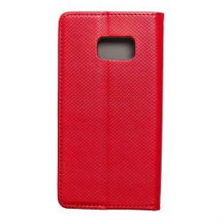 okos kihajtható tok Samsung Galaxy S7 (G930) piros telefontok