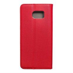 okos kihajtható tok Samsung Galaxy S7 Edge (G935) piros telefontok