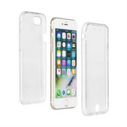 360 fokos Ultra Slim Első + hátsó tok IPHONE 7/8 / SE 2020 Átlátszó telefontok