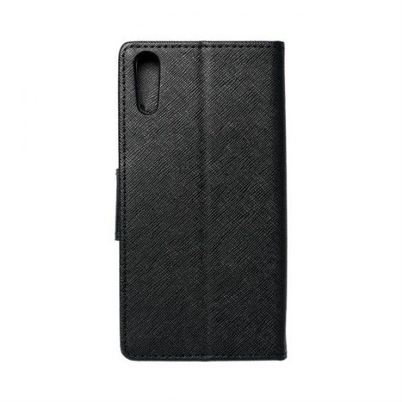 Fancy flipes tok SONY Xperia XZ fekete telefontok