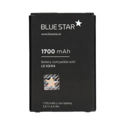 Akkumulátor LG K3 / K4 1700 mAh Li-Ion Blue Star PREMIUM