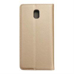 okos kihajtható tok Samsung Galaxy J5 2017 arany telefontok