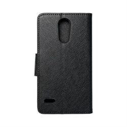 Fancy flipes tok LG K10 2017 fekete telefontok