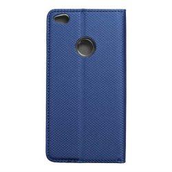 okos kihajtható tok HUAWEI P8 Lite 2017 / P9 lite 2017 sötétkék telefontok