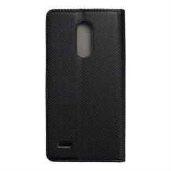 okos kihajtható tok LG K10 2017 fekete telefontok