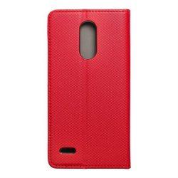 okos kihajtható tok LG K10 2017 piros telefontok