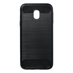 Forcell CARBON tok Samsung Galaxy J3 2017 fekete telefontok