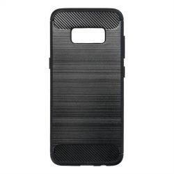 Forcell CARBON tok Samsung Galaxy S8 fekete telefontok