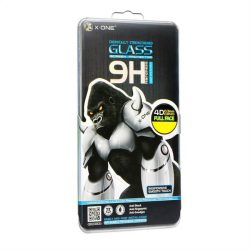 Protector LCD X-ONE - Samsung (SM-950) Galaxy S8 4D (kis méretű esetekben) Full Face fekete Edzett üveg tempered glass 9H üvegfólia