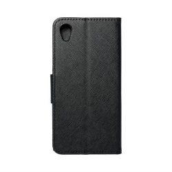 Fancy flipes tok SONY Xperia L1 fekete telefontok