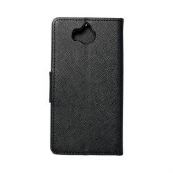 Fancy flipes tok Huawei S6 2017 / S5 2017 / Nova Fiatal fekete telefontok